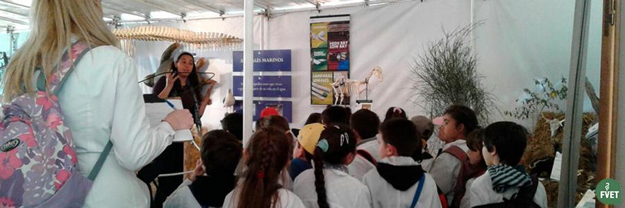 Convocatoria a Estudiantes para desempeñarse como voluntarios en el stand de FVET en ExpoPrado