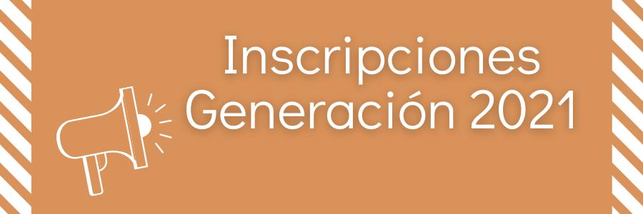 Instructivo de Preinscripción modificado – Generación 2021
