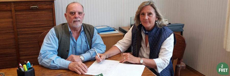 Firma de Convenio entre la Facultad de Veterinaria y SMVU
