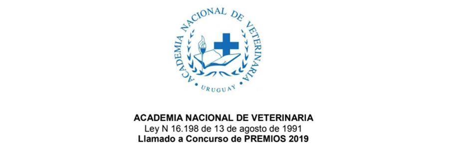 Llamado a Concurso de Premios 2019 de la Academia Nacional de Veterinaria