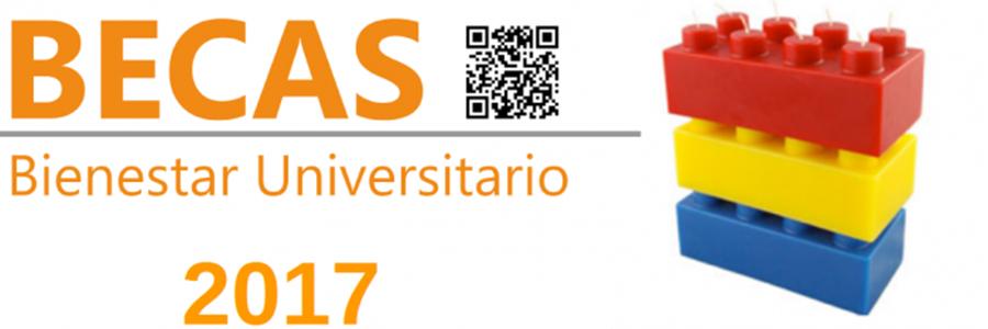 Becas para estudiantes generación 2017 de Bienestar Universitario