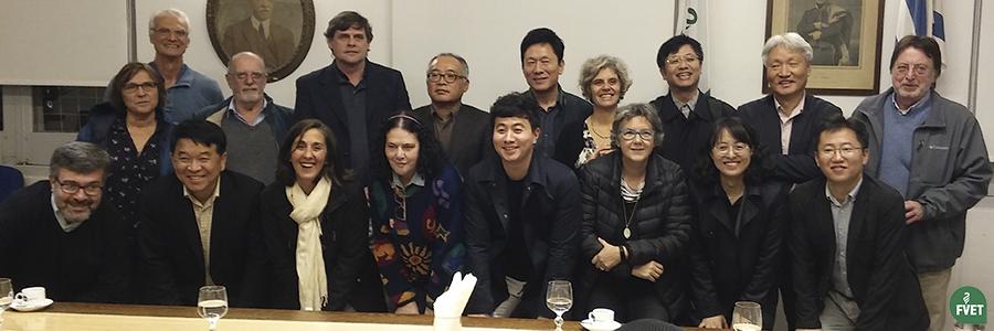 Delegación Coreana visitó las instalaciones de FVET
