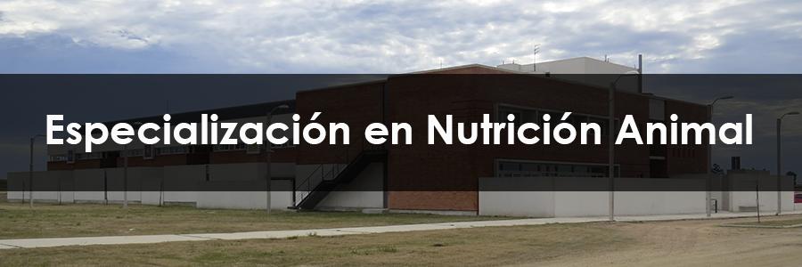 Especialización en Nutrición Animal