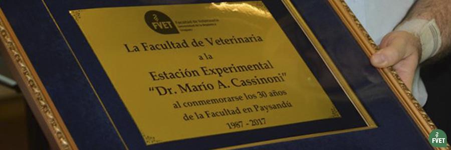 La Facultad de Veterinaria conmemoró sus 30 años en Paysandú