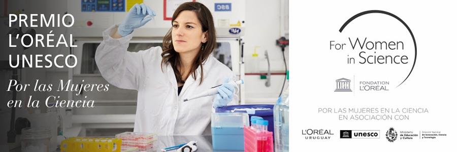 Premio L'Oréal UNESCO por las Mujeres en la Ciencia - Edición 2021