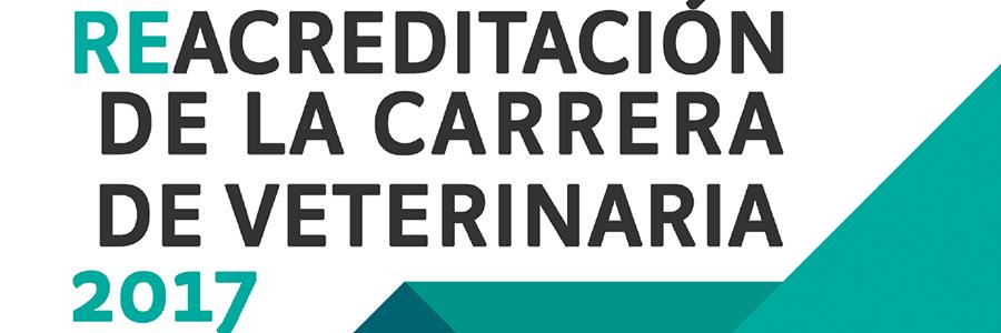 Re - Acreditación de la carrera de Veterinaria 2017
