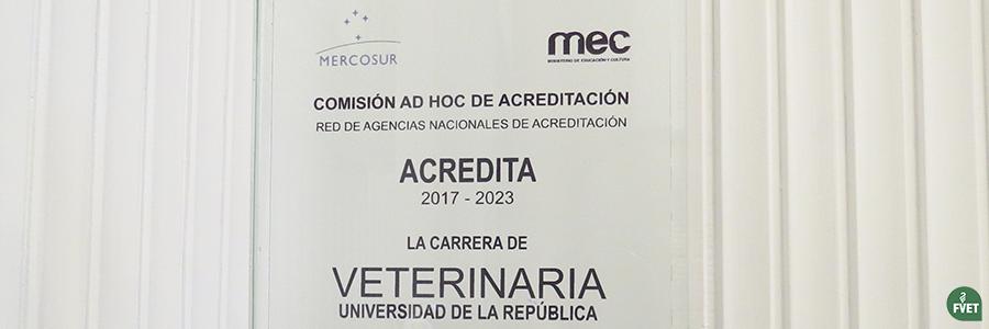 Facultad de Veterinaria ha sido acreditada por el sistema ARCU-SUR
