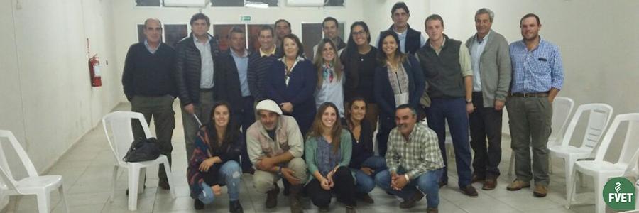 Visita del Decano de Facultad de Veterinaria Dr. José Piaggio a Rivera, Bella Unión y Artigas
