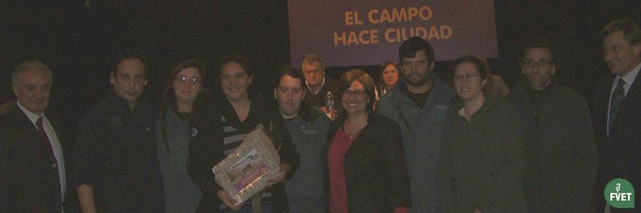 Premiación Stand de Facultad de Veterinaria en Expo Prado 2017