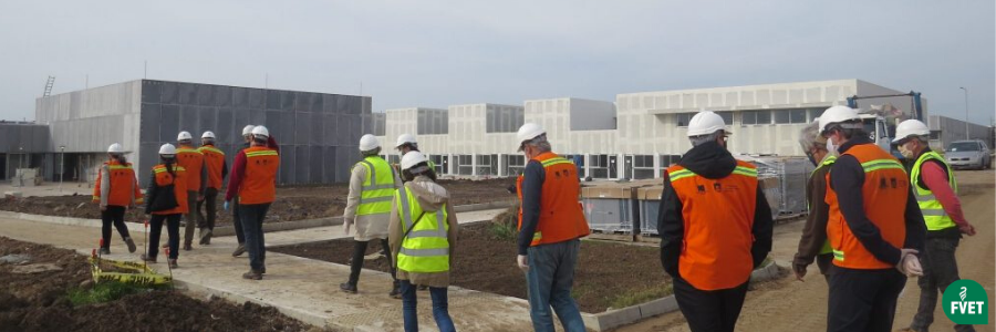 Avanzan las obras en la nueva sede de Facultad de Veterinaria