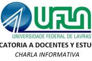 Charla: Oportunidades de movilidad estudiantil y docente a la Universidad Federal de Lavras (UFLA)