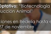 """Curso Optativo: """"Biotecnología de la Reproducción Animal"""""""