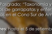 """Curso de Posgrado: """"Taxonomía y métodos de estudios de garrapatas y enfermedades transmitidas en el Cono Sur de América"""""""