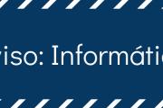 Aviso: Unidad de informática realiza migración del servidor de la web