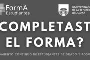 Formulario estadístico FormA para estudiantes de grado y posgrado