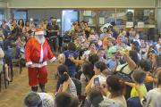 ¡Papá Noel visitó la Facultad!