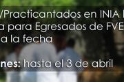 Pasantías/Practicantados en INIA La Estanzuela