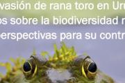 """Charla Informativa: """"La invasión de rana toro en Uruguay: efectos sobre la biodiversidad nativa y perspectivas para su control"""""""