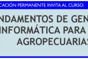 Curso: Fundamentos de genómica y bioinformática para ciencias agropecuarias