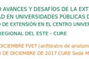 """Seminario: """"Avances y desafíos de la extensión e integralidad en universidades públicas del cono sur"""" – IV Encuentro de Extensión en el Cure Maldonado"""
