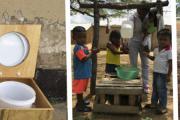 Práctica en compostaje y construcción de un baño seco ecológico