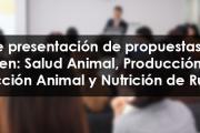 Seminario de presentación de propuestas de Tesis de Maestría en Salud Animal, Producción Animal, Reproducción Animal y Nutrición de Rumiantes