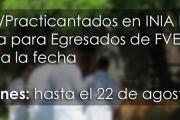 Pasantías / Practicantados en INIA La Estanzuela para Egresados de la Facultad de Veterinaria
