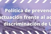 Política de prevención y actuación frente al acoso y la discriminación de Udelar