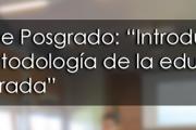 """Curso de Posgrado: """"Introducción a la metodología de la educación comparada"""""""