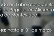 Practicantado en el Laboratorio de Bromatología de la Intendencia de Montevideo